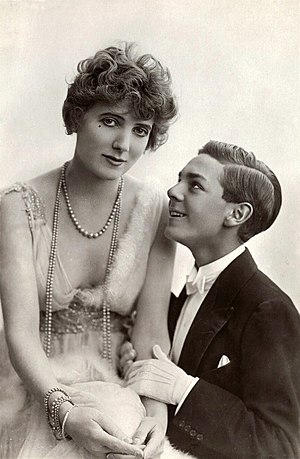 Roy Royston - Royston with Gina Palerme in Bric-a-Brac, 1915