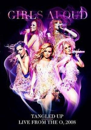 Tangled Up Tour - Image: Girls Aloud Tangled Up DVD