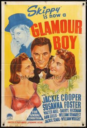 Glamour Boy (film) - Theatrical release poster