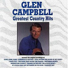 Glen Campbell Greatest Country Hits album cover.jpg