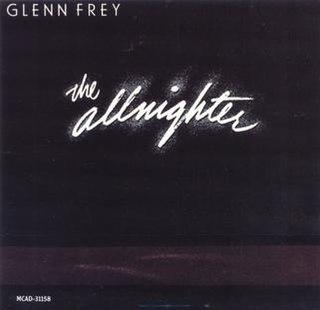 <i>The Allnighter</i> (album) 1984 studio album by Glenn Frey