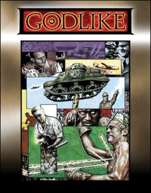 Godlike (role-playing game) - Image: Godlike rpg cover