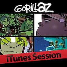 Gorillaz-iTune'oj Session.jpg