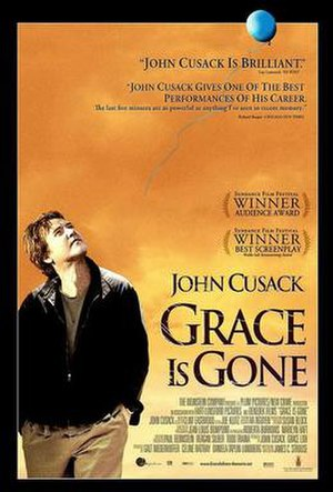 Grace Is Gone - Theatrical release poster