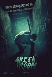 <i>Green Room</i> (film) 2015 film by Jeremy Saulnier