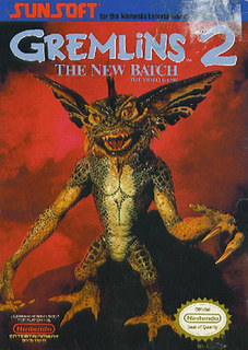 <i>Gremlins 2: The New Batch</i> (video game) 1990 computer and video game