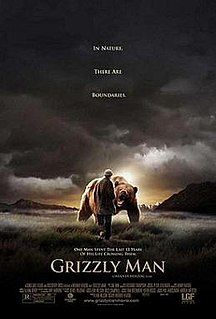 <i>Grizzly Man</i> 2005 documentary film directed by Werner Herzog