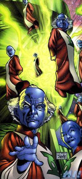 Guardians of the Universe - Art by Jamal Igle, Green Lantern Secret Files (2005)