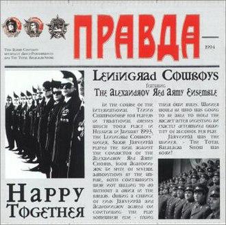 Happy Together (Leningrad Cowboys album) - Image: Happy Together German