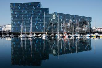 Miðborg - Harpa conference center in Reykjavík City Center