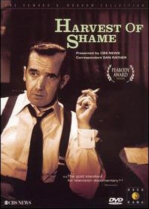 Harvest of Shame - DVD cover of Harvest of Shame