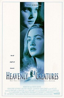 <i>Heavenly Creatures</i> 1994 New Zealand drama film directed by Peter Jackson