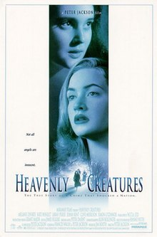 Movie poster for Heavenly Creatures