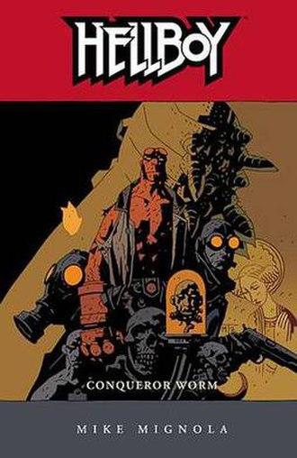 Hellboy: Conqueror Worm - Cover to the trade paperback Art by Mike Mignola