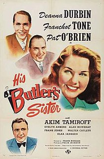 <i>His Butlers Sister</i> 1943 film