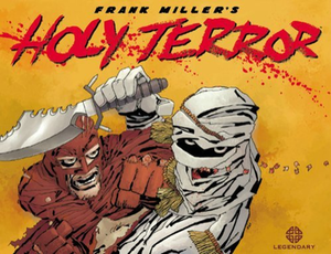 Holy Terror (graphic novel) - Image: Holy Terror cover