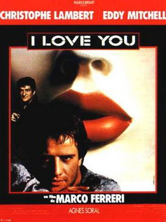 I Love You (1986 film) - Film poster