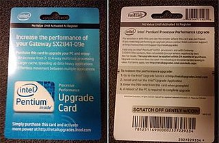 Intel Upgrade Service A controversial paid service by Intel