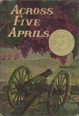 Across Five Aprils - First edition