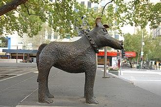 Larry La Trobe - Image: Irving Bronze Sculpture Larry La Trobe 1992 1996 b
