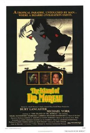 The Island of Dr. Moreau (1977 film) - Original theatrical poster
