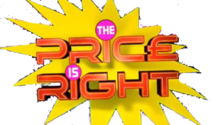 The Price Is Right (UK game show) - Logo from Joe Pasquale-era.