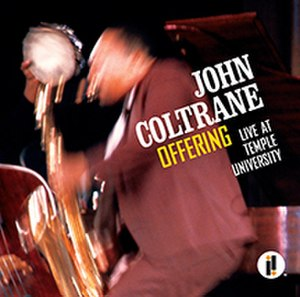 Offering: Live at Temple University - Image: John Coltrane Offering