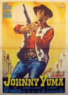 <i>Johnny Yuma</i> (film) 1966 film by Romolo Guerrieri