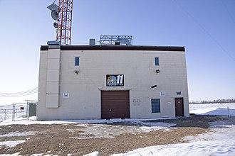 KVLY-TV mast - Image: KVLY TV Mast Tower Base