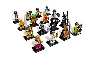 Lego Minifigures (theme) - The 16 units in Series 2