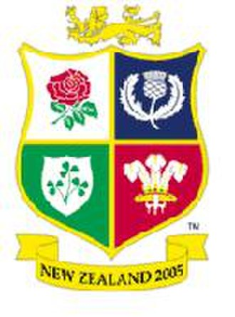 2005 British and Irish Lions tour to New Zealand - The logo of the 2005 Lions tour