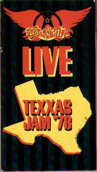 Live Texxas Jam '78 - Image: Livetexasjam