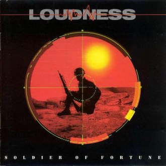 Soldier of Fortune (Loudness album) - Image: Loudness soldier of fortune