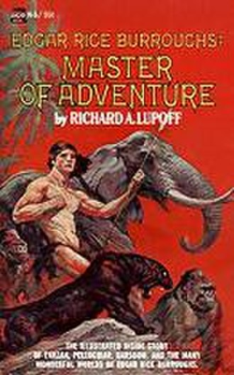 Master of Adventure: The Worlds of Edgar Rice Burroughs - Cover of 2nd (1st Ace Books) edition, 1968