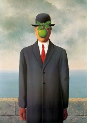 The Son of Man - Image: Magritte The Son Of Man