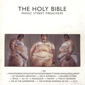 The Holy Bible (album) - Image: Manic Street Preachers The Holy Bible album cover