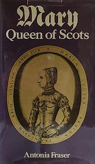 <i>Mary Queen of Scots</i> (1969 book) book by Antonia Fraser