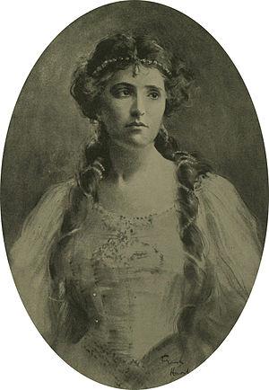Nellie Melba - Melba, drawn by Frank Haviland
