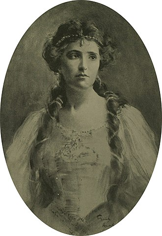 Nellie Melba - Melba, drawn by Frank Haviland