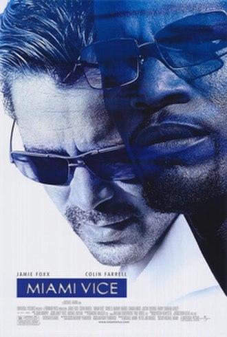Miami Vice (film) - Theatrical release poster