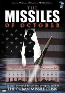 <i>The Missiles of October</i> 1974 docudrama directed by Anthony Page