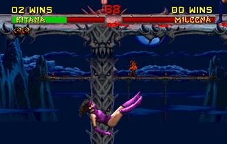 Mortal Kombat II - Image: Mortal Kombat II Pit II