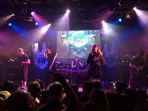 Ne Obliviscaris (band) - Image: Ne Obliviscaris, Live in Tokyo 2015