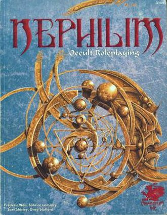 Nephilim (role-playing game) - Image: Nephilim RPG Front Cover