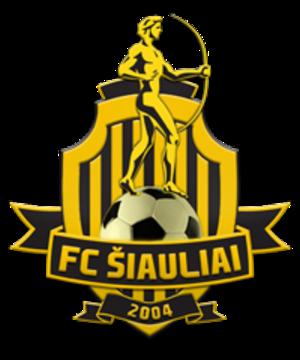FK Šiauliai - Image: New FK Šiauliai logo