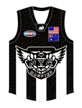 New York Magpies - Image: New York Magpies Guernsey