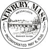 Official seal of Newbury, Massachusetts