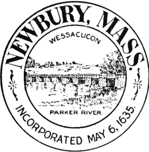Newbury, Massachusetts - Image: Newbury MA seal
