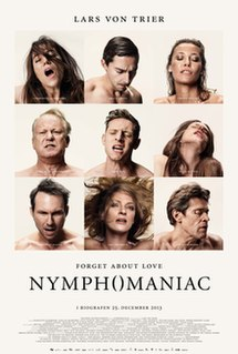 <i>Nymphomaniac</i> (film) 2013 European two-part art film by Lars von Trier