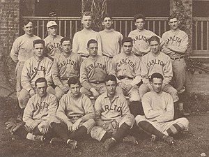 First baseball team
